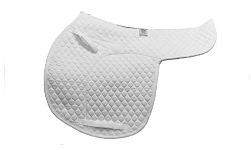 All Saddle Shaped Pads made in our Standard Quilt